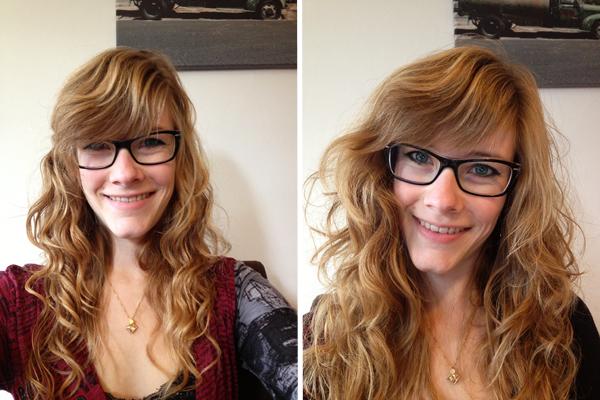 Voor en na de kapper in 2012