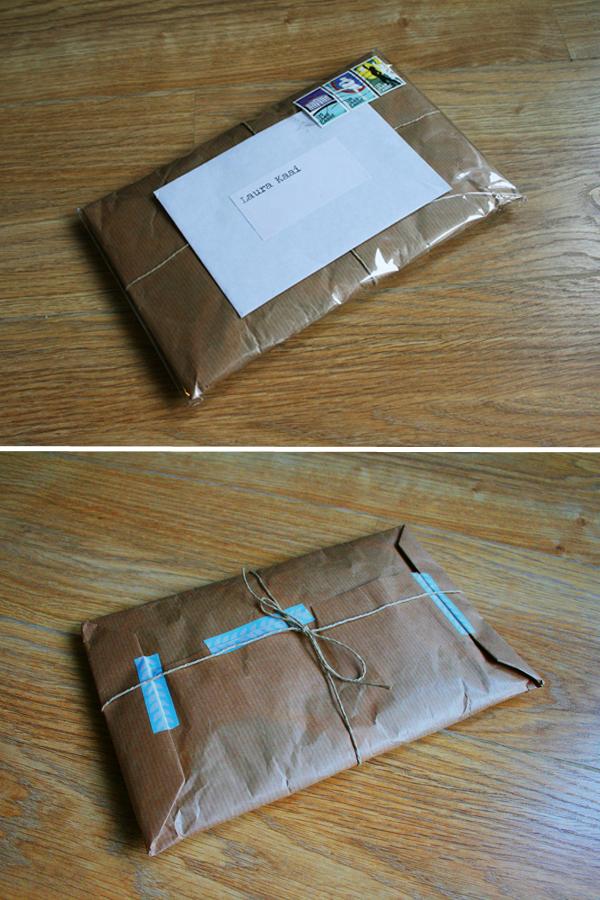Geen pakketje, maar een cadeautje