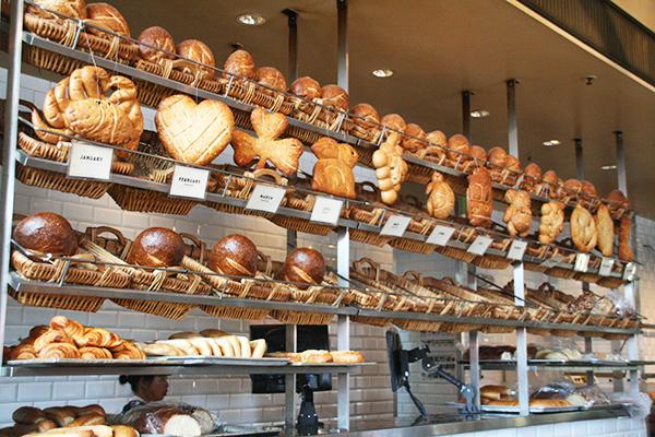 Toffe zuurdesembroden in Boudin Bakery
