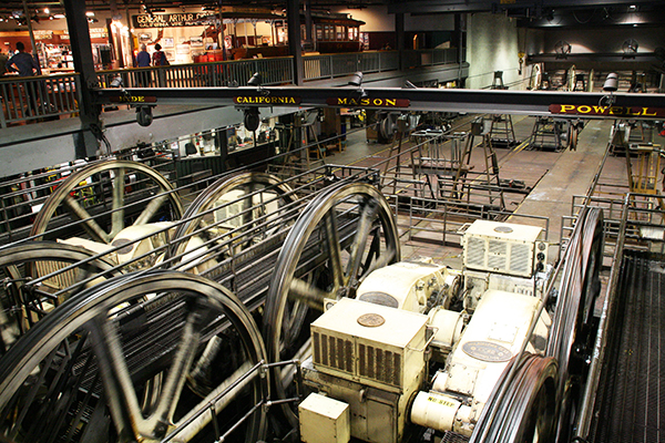 Cable Car Museum in San Francisco