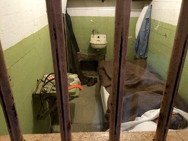 Reconstructie van de befaamde ontsnapping uit Alcatraz
