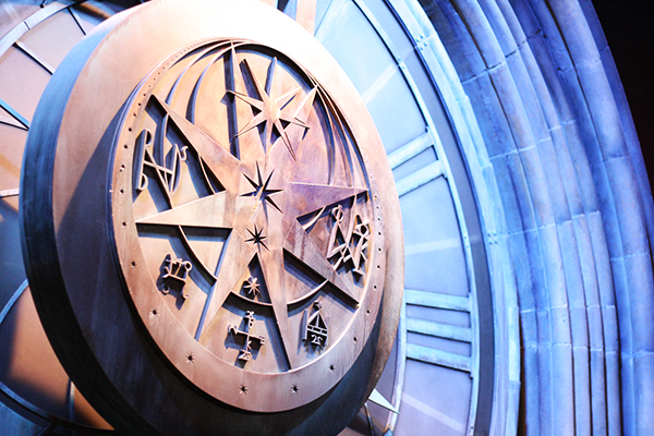 Astronomy Tower Clock @ Warner Bros. Studio Tour London