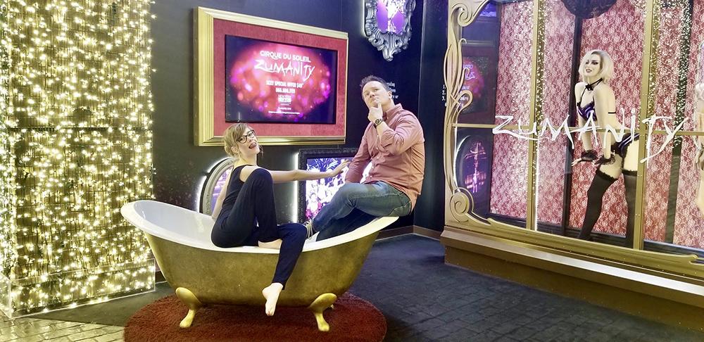 Cirque Du Soleil's Zumanity in Las Vegas