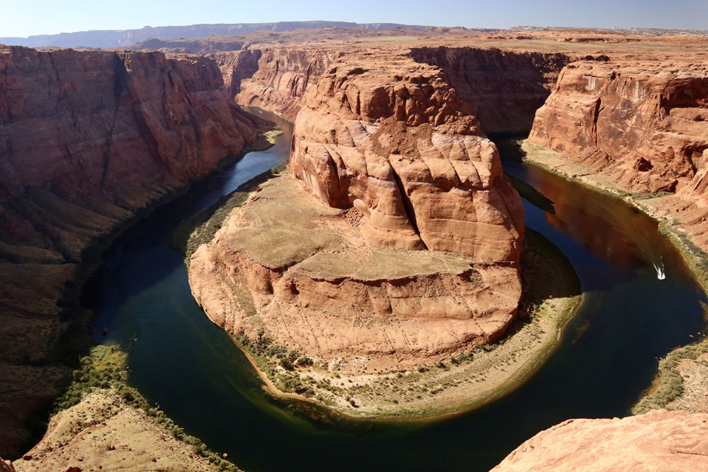 Horseshoe Bend in Glen Canyon