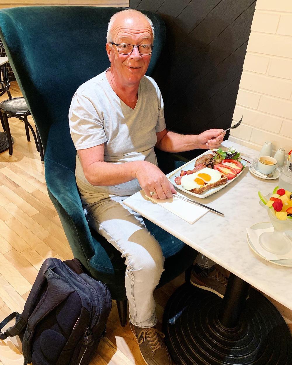 Ontbijt bij Harrods